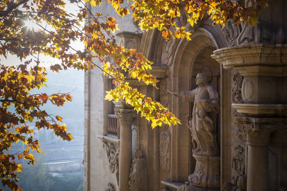 Manresa - Entrance to the Cave of St. Ignatius
