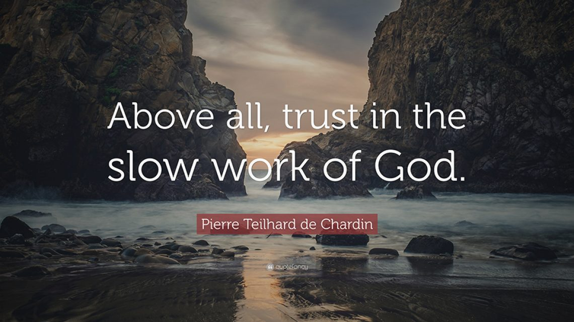 Pierre Teilhard de Chardin - Above All - 960x540
